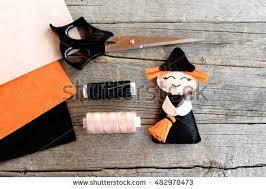 Halloween Witch Decorations Witch Craft Banco De Imagens Fotos E Vetores Livres De Direitos