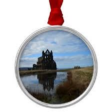 whitby abbey christmas tree decorations u0026 ornaments zazzle co uk