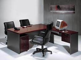 praiseworthy design of simple modern desk cool modern white