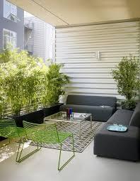 corrugated metal planter box patio scandinavian with metal railing