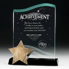catch a star achievement acrylic award successories