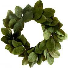 Magnolia Leaf Wreath 22