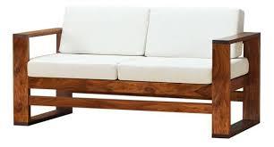 Simple Wooden Sofa Sheesham Wood Sofa Centerfordemocracy Org