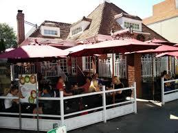 Restaurant Patio Planters by Best Restaurant Patios In Beverly Hills
