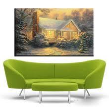 Thomas Kinkade Clocktower Cottage by Online Get Cheap Thomas Kinkade Cottages Aliexpress Com Alibaba