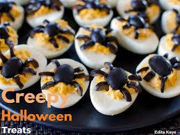 creepy halloween snacks u2013 edita kaye yummy