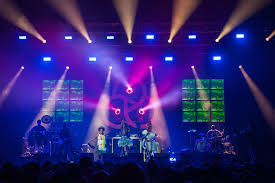 xl video at the o2 with basement jaxx live design