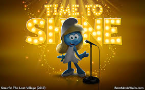 smurfs the lost village wallpapers timetoshine with smurfette sing and smurfs3 u003d this wallpaper