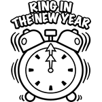 new year u0027s day free coloring pages crayola com