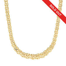 mens byzantine necklace gold images Stefano oro 14k gold 18 quot byzantine chain necklace 12 92 grams evine