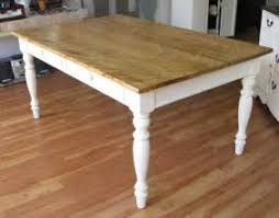 Country Kitchen Table Plans - custom farmhouse dining table by sentinel tree woodworks 16