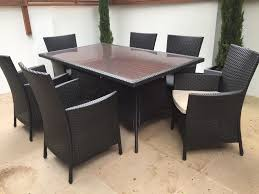 patio heaters homebase homebase panama garden furniture set 6 seater as new and already