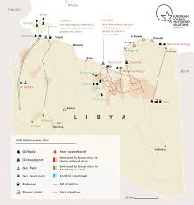 Map Of Us Without Names A Quick Guide To Libya U0027s Main Players European Council On