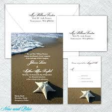 starfish wedding invitations starfish wedding invitations mounttaishan info