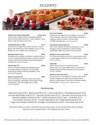 menu sampling creative cuisine catering