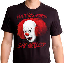 halloween horror nights shirts stephen king u0027s it pennywise t shirt it mens t shirt