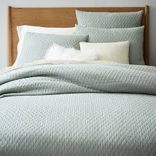 black friday duvet cover sale organic ripple texture duvet cover shams west elm