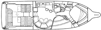 floor plan express powerboat guide boat reviews specifications reference tool