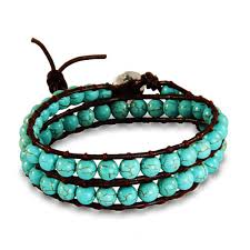 beaded wrap bracelet images Chen rai turquoise beaded wrap bracelet eve 39 s addiction jpg