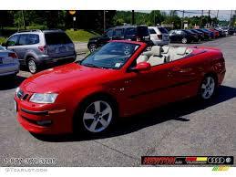 saab convertible red 2007 laser red saab 9 3 aero convertible 66431755 photo 4