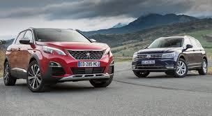 choisir si e auto peugeot 3008 2 vs volkswagen tiguan 2 comparatif qui est