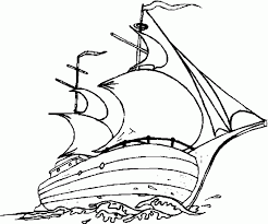 mayflower ship coloring page coloring home