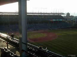 Chicago Cubs Seat Map by Wrigley Field Section 538 Chicago Cubs Rateyourseats Com