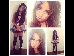 Creepy Doll Costume Simple Halloween Creepy Doll Makeup And Costume Tutorial