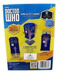 amazon com underground toys doctor who spin u0026 fly 3 75 tardis