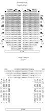 Floor Plan Of Auditorium by Seating U0026 Services