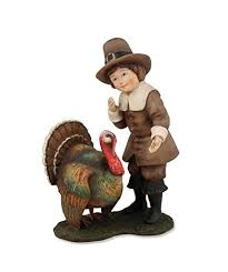 thanksgiving pilgrim indian children figurines thanksgiving wikii