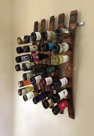 36 wall art wine rack wine rack wall decor projects to try