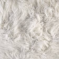 Faux Fur Throw Grey Shannon Luxury Faux Fur Curly Yak White Discount Designer Fabric