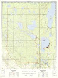 Canada National Parks Map by Prince Albert National Park Topo Map Nesslin Lake Canada U2022 Mappery