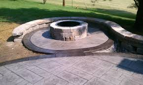 Decorative Concrete Patio Contractor St Louis Award Winning T U0026 H Foundations And Concrete Services