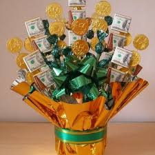 edible birthday gifts edible candy and money bouquet birthday gifts birthdays and gift