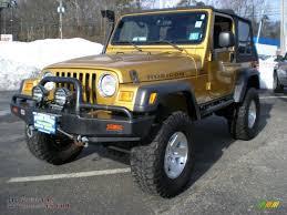gold jeep wrangler 2003 jeep wrangler rubicon 4x4 in inca gold metallic 345854 all