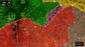 Map Of Turkey And Syria by Map Update Syrian Army Continues Blitz Against Isis As Turkish