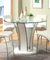 mainstays parsons counter height dining table black round with