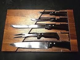 xx kitchen knives knife set of 5 vintage xx kitchen knives knife kitchen