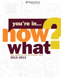 virginia tech thanksgiving break you u0027re in now what by division of student affairs issuu