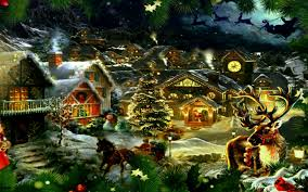 old fashioned christmas wallpapers merry christmas