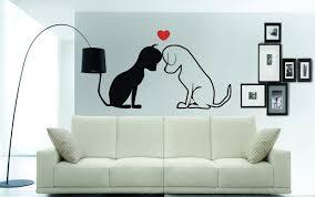 cat dog love heart wall art sticker mural decal sticker 3 cat dog love heart wall art sticker mural decal sticker