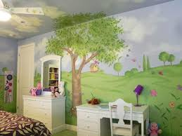 Modern Ideas For Kids Room Awesome Childrens Bedroom Wall - Childrens bedroom painting ideas