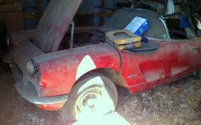 1961 corvette project for sale fuelie wannabe 1961 corvette barn find