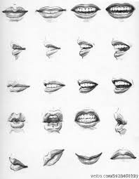 drawing mouths if you u0027re going to draw the teeth make the lines