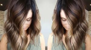 the latest hair colour techniques 2018 hair color trend painted hair techniques youtube
