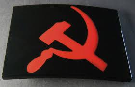Communist Flag Russia Ussr Russia Communist N Socialist Marx Flag Unisex Girls Belt Buckles