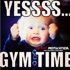 Gym Motivation Meme - gym time beast motivation