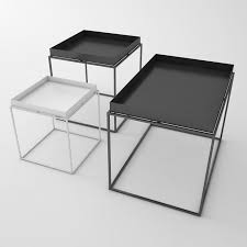 Metal Tray Coffee Table Modern Design Metal Steel Tray Table Modern Loft Tea Side Table